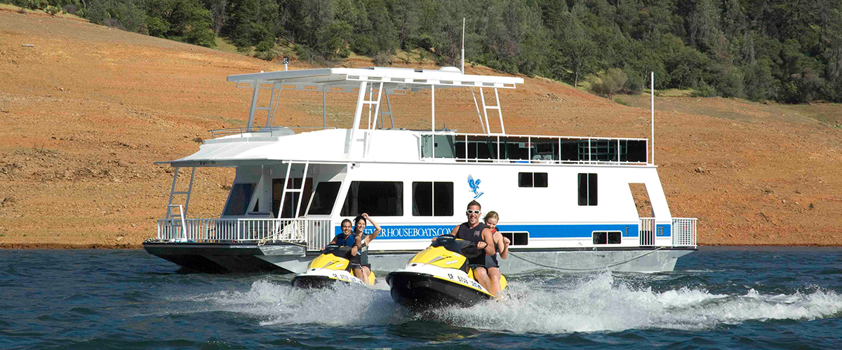 Lake Oroville Marina - Go Houseboating