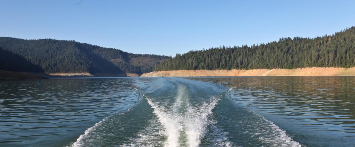 Forever #10 Trinity Lake Wake