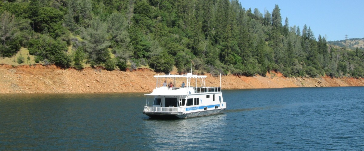 Forever #5 Oroville Houseboat Underway (1)